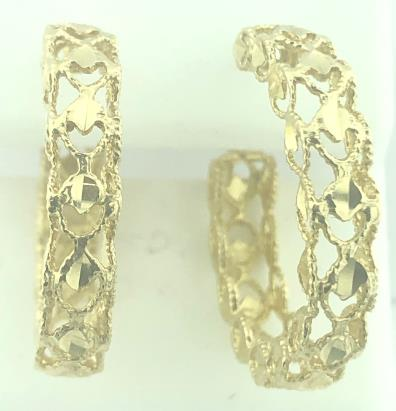 14 Karat Gold/5.1G EARRINGS