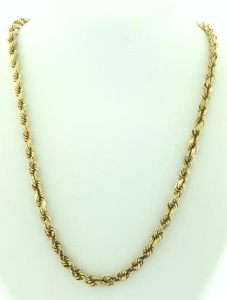 14 Karat Gold/15.0G NECKLACE