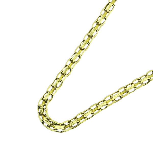 14K YELLOW GOLD NECKLACE| 11.1G| LENGTH 24""