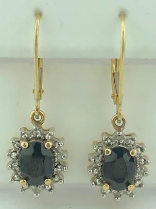 14 Karat Gold/3.9G EARRINGS