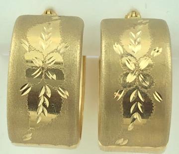 14 Karat Gold/4.1G EARRINGS