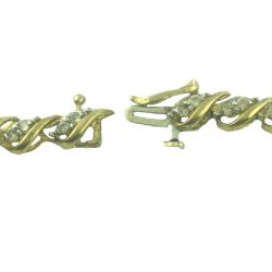 DIAMOND BRACELET- 10K YELLOW GOLD| 8.8 GRAMS| 1.00CT TDW| LENGTH 7""