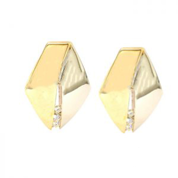 14K YELLOW GOLD EARRINGS| 6.2G
