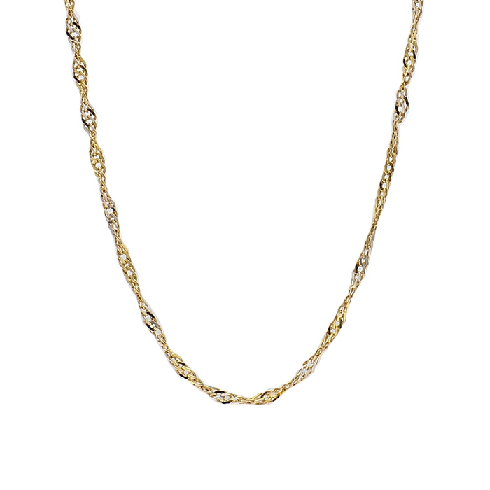 "14 KARAT GOLD NECKLACE| 1.5G| LENGTH 18.50"""