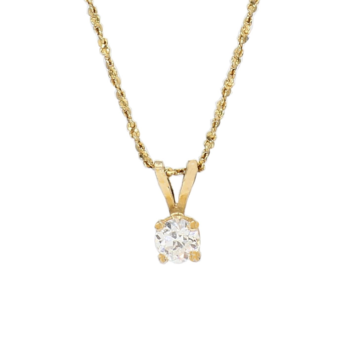 """18K YELLOW GOLD NECKLACE