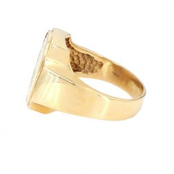 14K YELLOW GOLD| 5.4G| SIZE 12.25""