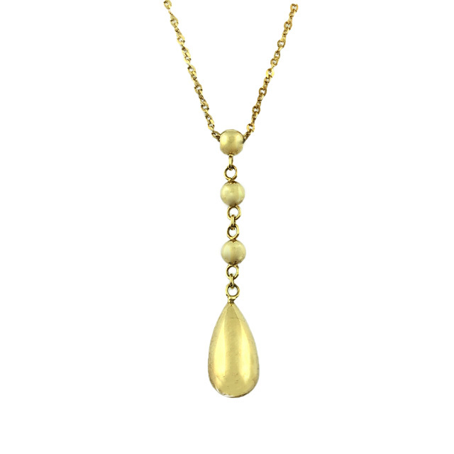 14K YELLOW GOLD NECKLACE | 2.7G| LENGTH 18""