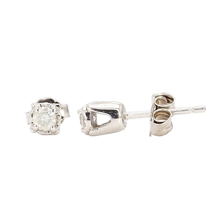 DIAMOND STUD EARRINGS- 14K GOLD