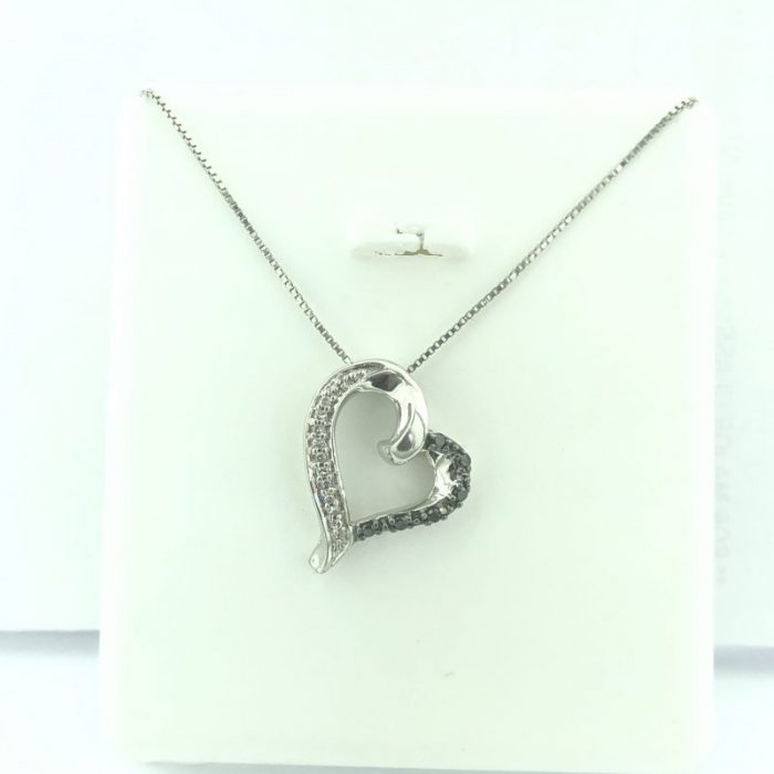 """14 KARAT GOLD/1.9G/18"""" NECKLACE WITH HEART PENDANT"""