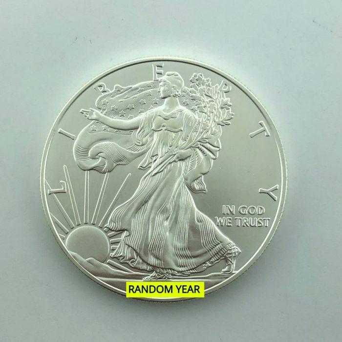 1 Oz Silver Eagle