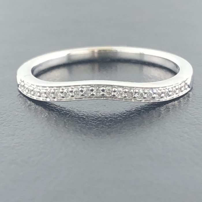 "WEDDING BAND/2.1G/7"" - 14K WHITE GOLD"