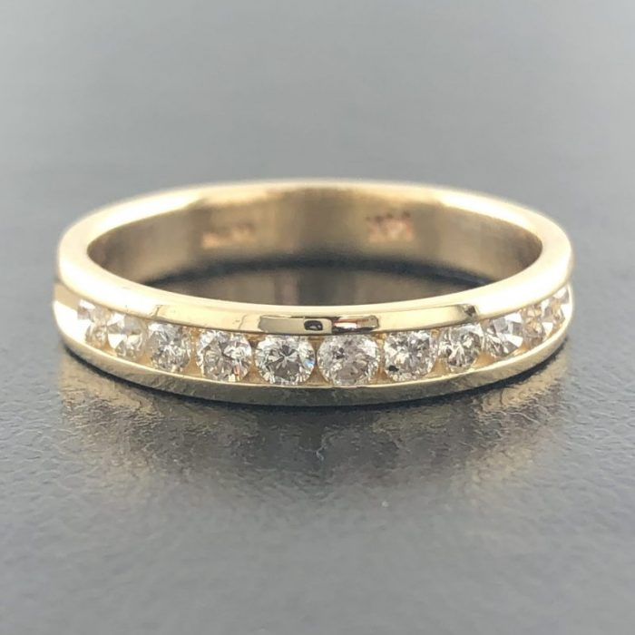 14K YELLOW GOLD/3.4G/8""