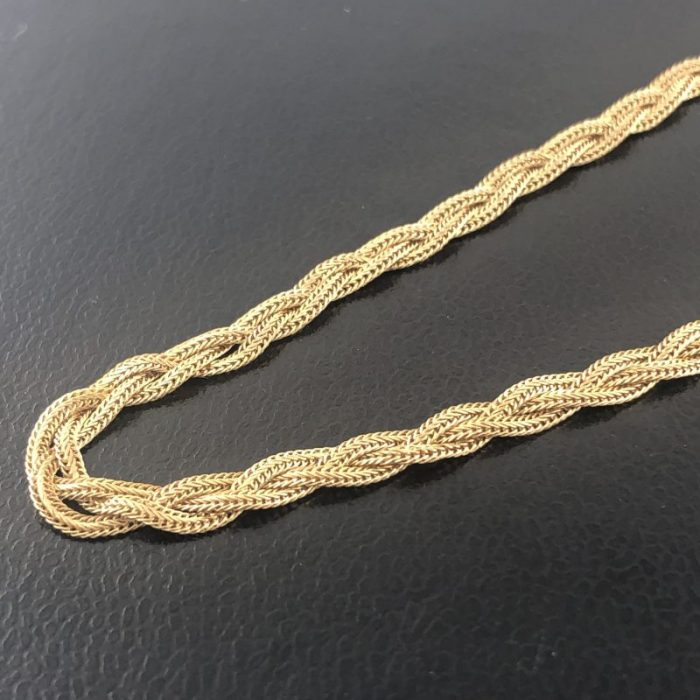"14K YELLOW GOLD/5.9G/18"" NECKLACE"