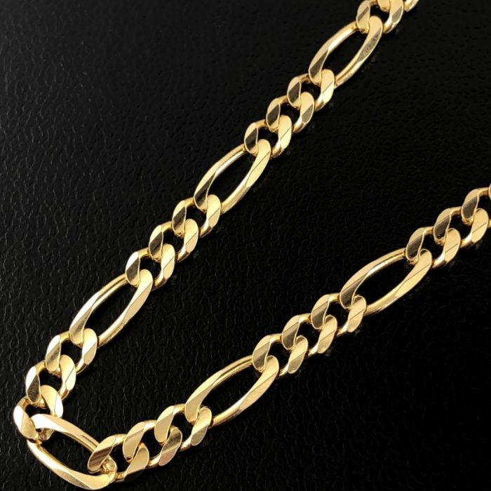 14K YELLOW GOLD NECKLACE/17.5G/20""