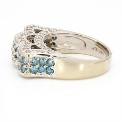 DIAMOND RING 2CT TD-14K YELLOW GOLD| SIZE 7""