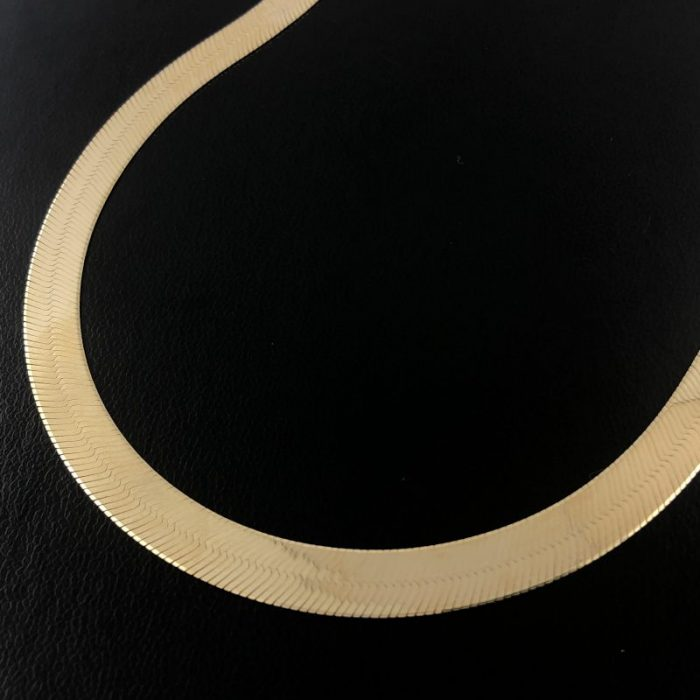 14K YELLOW GOLD NECKLACE/21.2G/19""