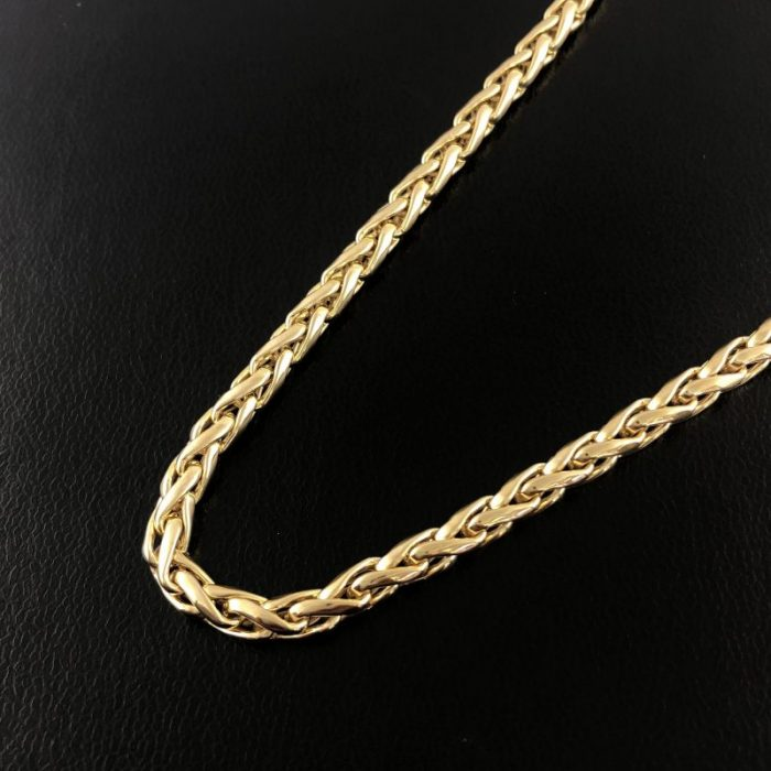 14K YELLOW GOLD CHAIN/21.9G/SIZE 24""