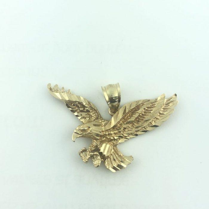 10K YELLOW GOLD EAGLE PENDANT/4.0G