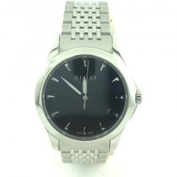 GUCCI STAINLESS STEEL LADIES 126.5 WATCH