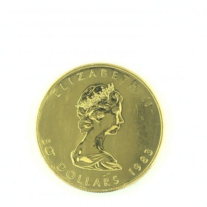 50 Dollars - Elizabeth II FINE GOLD 1 OZ OR PUR