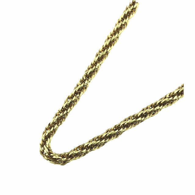 """14K YELLOW GOLD NECKLACE/3.7G/SIZE 24"""""""