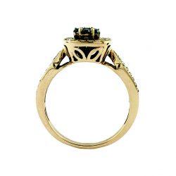 "10K ROSE GOLD DIAMOND RING   3.8G   SIZE 7"""