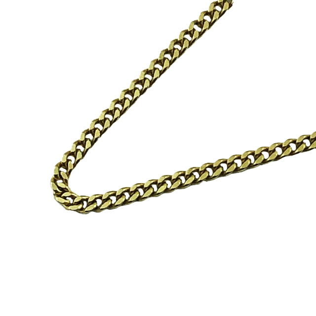 """14K YELLOW GOLD CHAIN NECKLACE