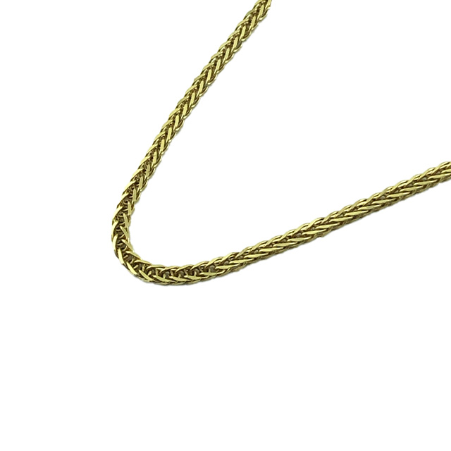 10K YELLOW GOLD NECKLACE| LENGTH 20""
