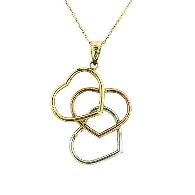 """10K YELLOW GOLD NECKLACE
