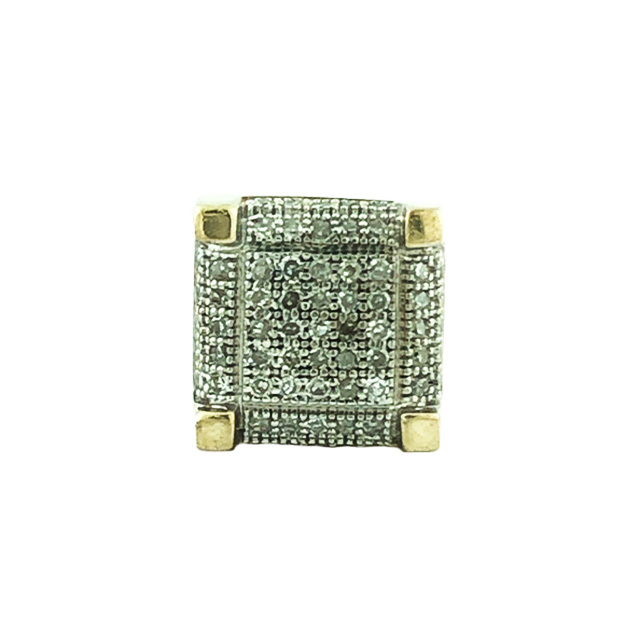 DIAMOND EARRING STUD-10K YELLOW GOLD| 1.7G| 0.40CT TDW