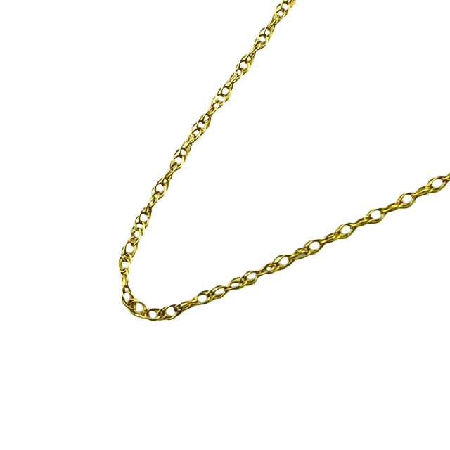 10K YELLOW GOLD NECKLACE| LENGTH 18""