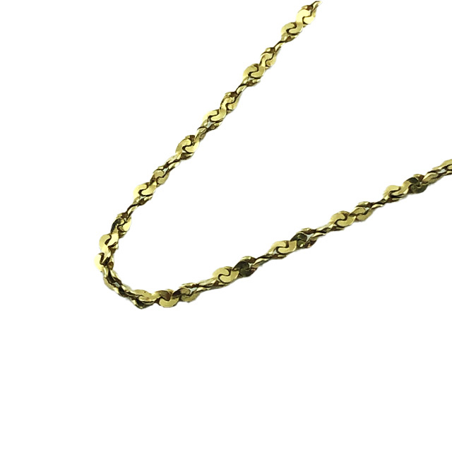 14K YELLOW GOLD NECKLACE| 18""