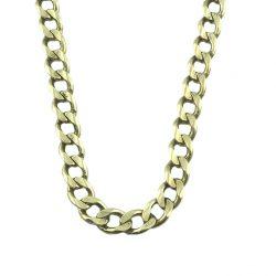 "10K YELLOW GOLD CUBAN LINK NECKLACE| 34.5G| LENGTH 26"""
