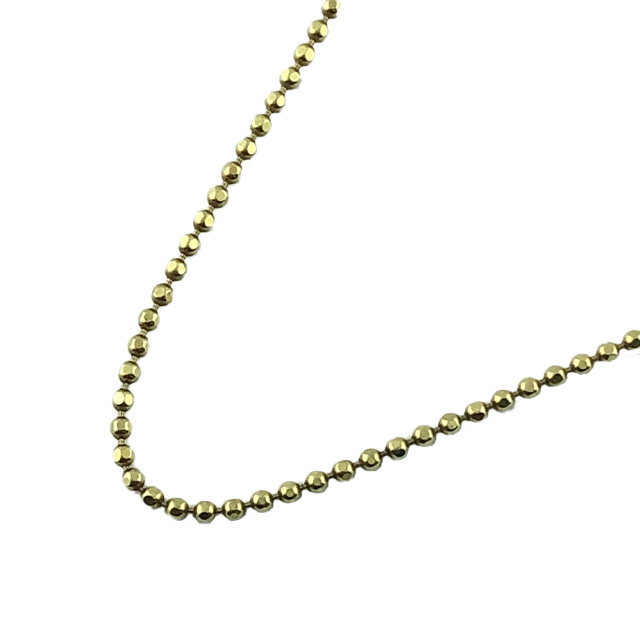 """14K YELLOW GOLD NECKLACE