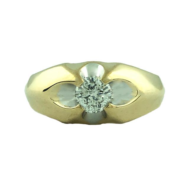 "DIAMOND RING- 14K YELLOW GOLD| 0.50 CT TDW| SIZE 9.50"""