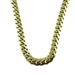 MENS 10K YELLOW GOLD MIAMI CUBAN LINK CHAIN  |51.1 GRAMS WEIGHT| 6 MM WIDE| 21 INCHES LONG