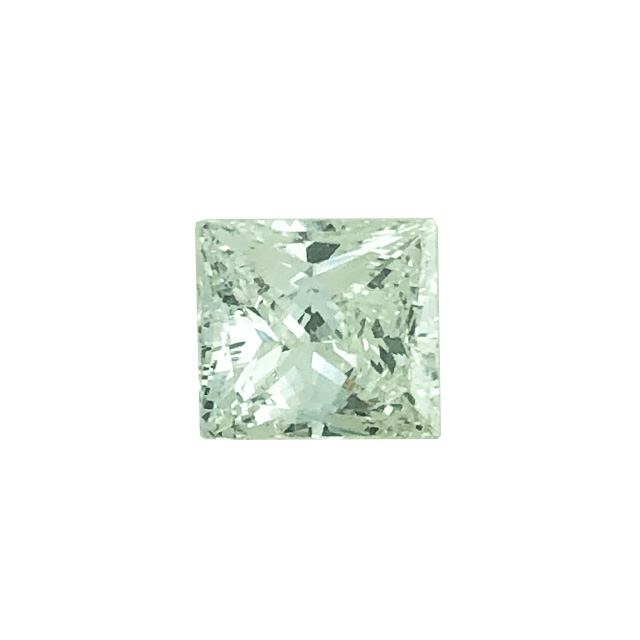 1.01 CARAT PRINCESS CUT DIAMOND- GIA CERTIFIED| COLOR- H| CLARITY- VS1