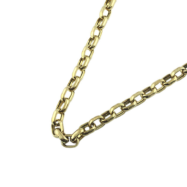 """CABLE LINK CHAI NECKLACE- 10K YELLOW GOLD  10 GRAMS WEIGHT   LENGTH 24"""""""