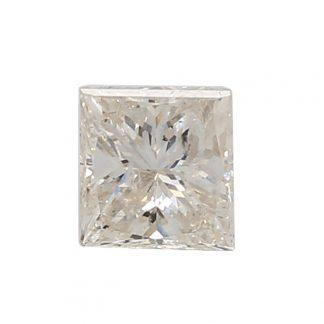 1.17 CARAT PRINCESS CUT DIAMOND| COLOR- H| CLARITY- I1