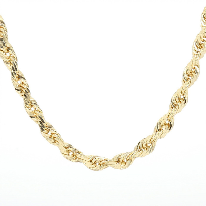 14K YELLOW GOLD ROPE CHAIN| 4.2G| LENGTH 18""