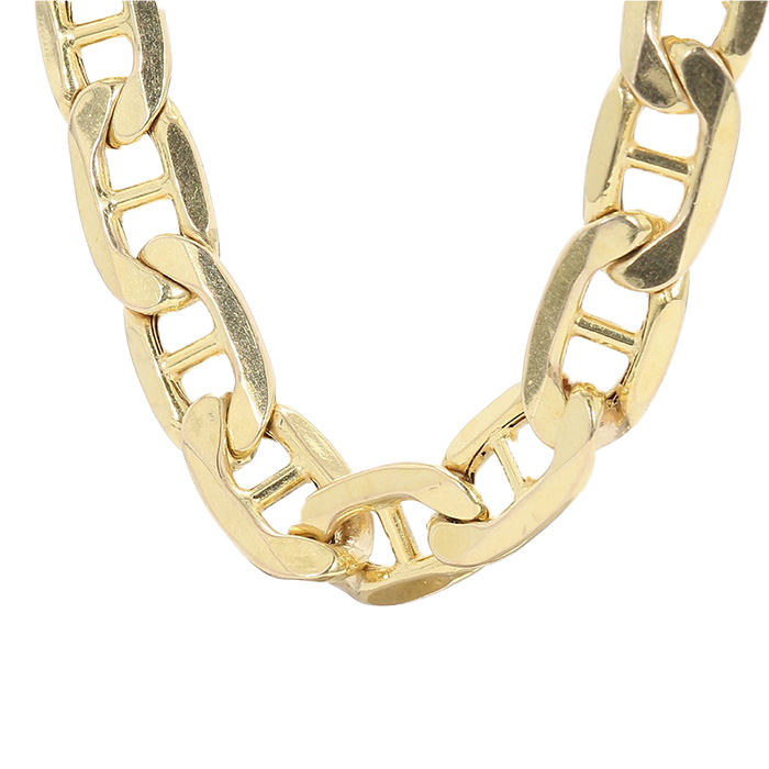 GUCCI LINK CHAIN- 10K YELLOW GOLD| 10G| LENGTH 20""