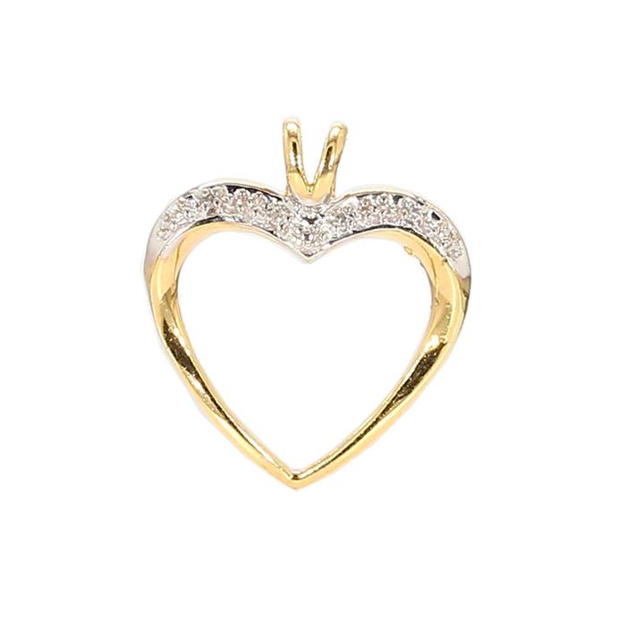 HEART PENDANT- 10K YELLOW GOLD