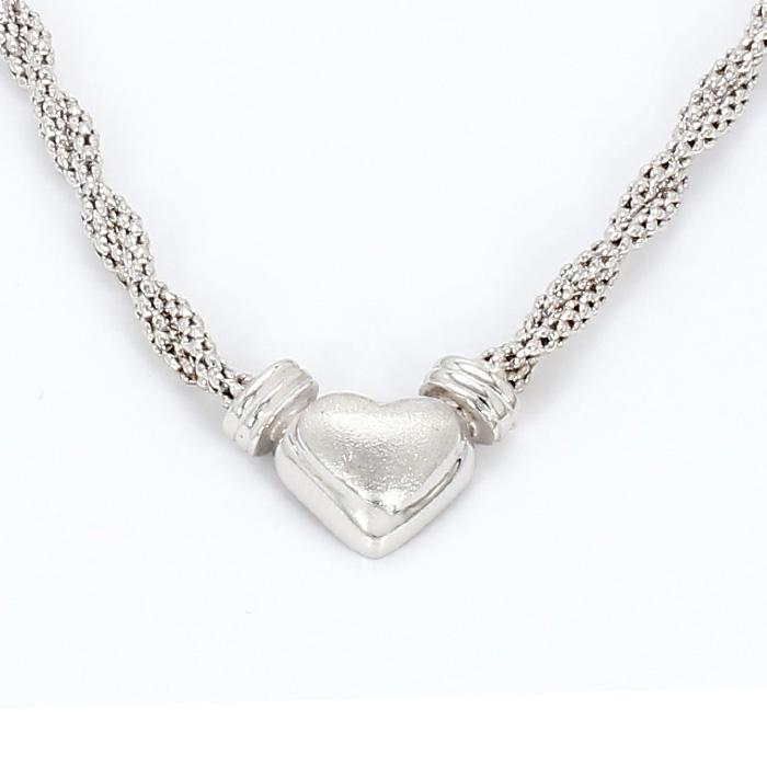 "14k white gold necklace14K WHITE GOLD NECKLACE| 8.8G| LENGTH 18"""