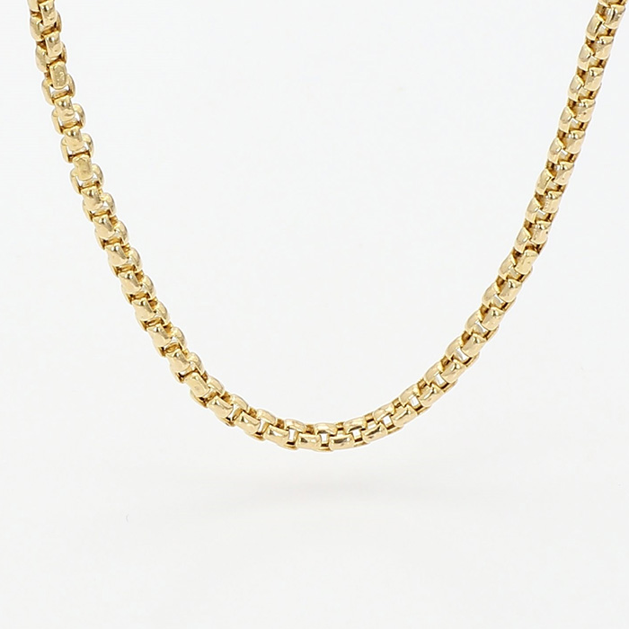 """GOLD NECKLACE- 14K YELLOW GOLD