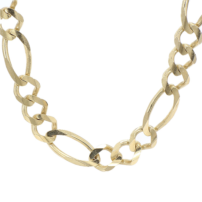 """FIGARO NECKLACE- 14K YELLOW GOLD