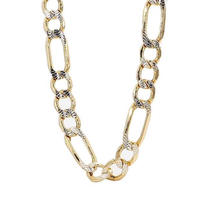 FIGARO NECKLACE- 14K YELLOW GOLD| 10.5G| LENGTH 24"