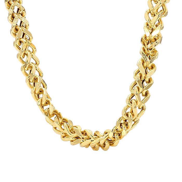MENS NECKLACE- 10K YELLOW GOLD 17.1G| LENGTH 24"