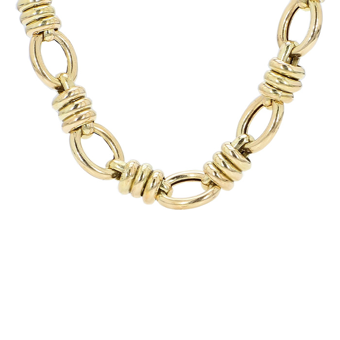 MENS NECKLACE- 14K YELLOW GOLD| 27.1G| LENGTH 24"