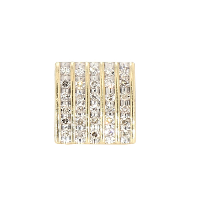 SINGLE STUD DIAMOND EARRRING- 14K GOLD| 0.25CT TDW