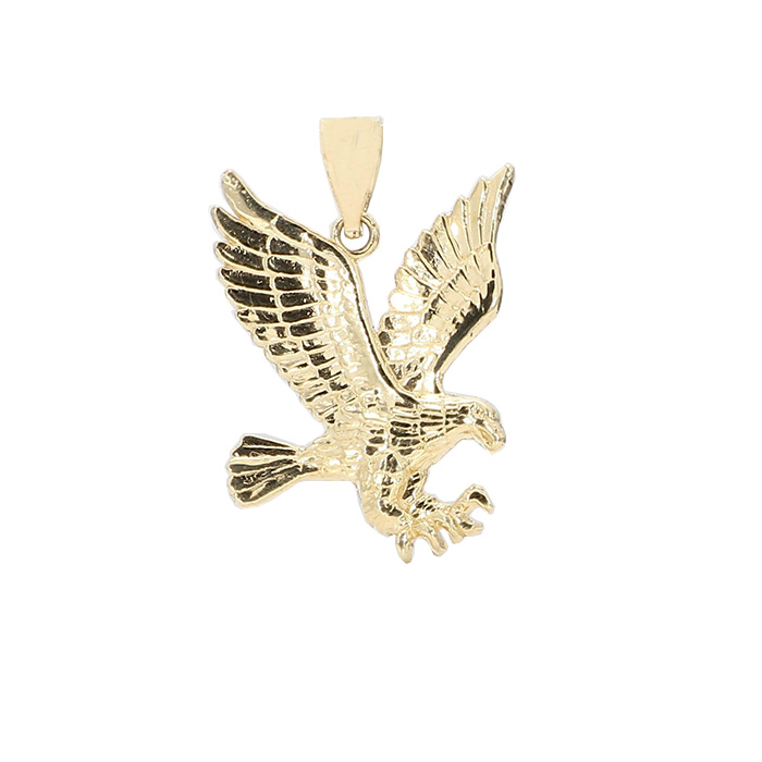 """EAGLE PENDANT- 10K YELLOW GOLD